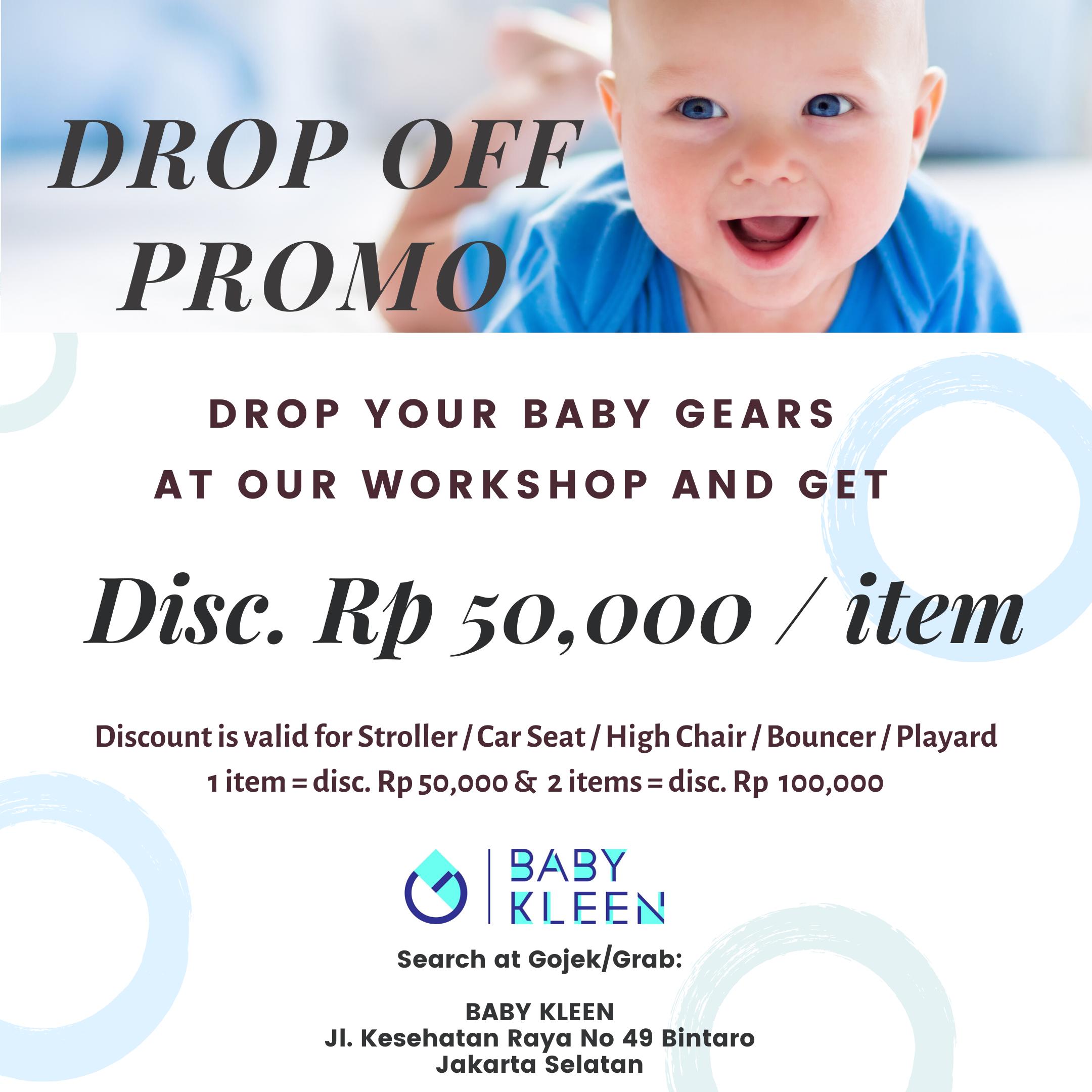 Drop Off Promo